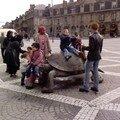 La tortue de la place de la Victoire