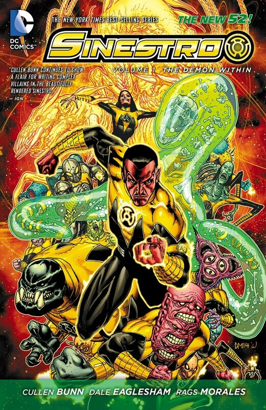 sinestro vol 1 the demon within TP