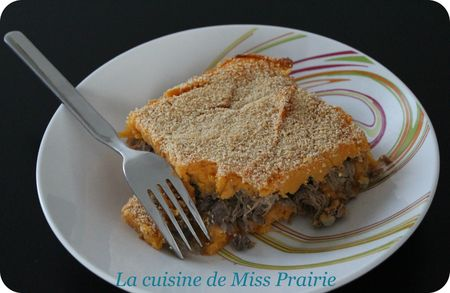 Parmentier canard-patate douce