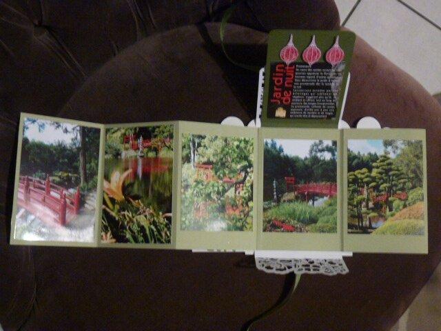18j Mini album Jardin