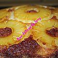 Gâteau a l'ananas d'aline