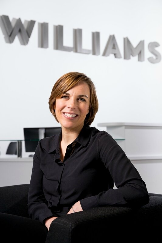 CLAIRE WILLIAMS 40 YEARS