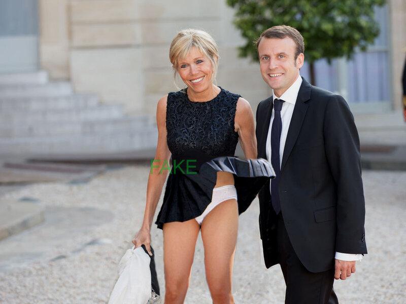 Brigitte Macron, petite culotte