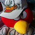 casquette custom Picsou X Angry birds