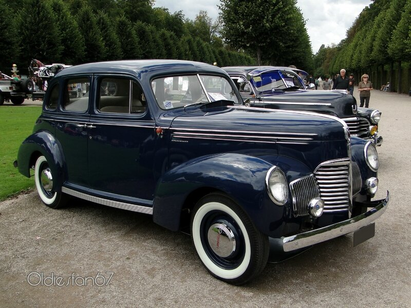 studebaker type G champion cruising sedan 1939 b