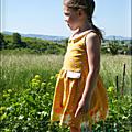 Milos - la robe de petite fille sage