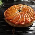 Galette pistache - framboise