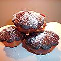 Muffins citron myrtille