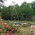 Inauguration de la cabane aux jardins des harmonies