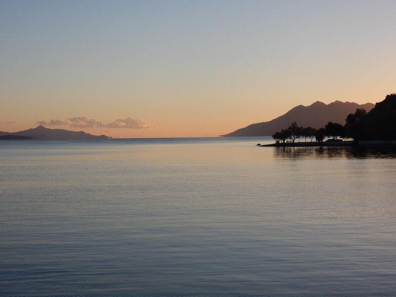 La baie d'Epidhavros au lever du soleil 101116 2