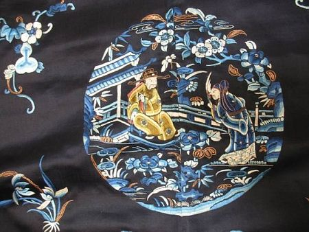 A_woman_s_midnight_blue_silk_overcoat_with_polychrome_figure_embroidery2
