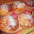 Muffins facon gateau au yaourt à la confiture d'abricot