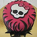 Gâteau monster high n°2 - monster high cake