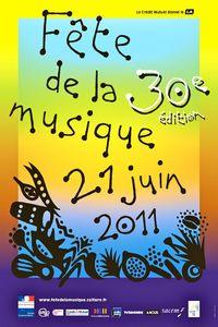 FÊTE MUSIQUE affiche 2011