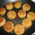 Croquettes de purée farcies à la mozzarella