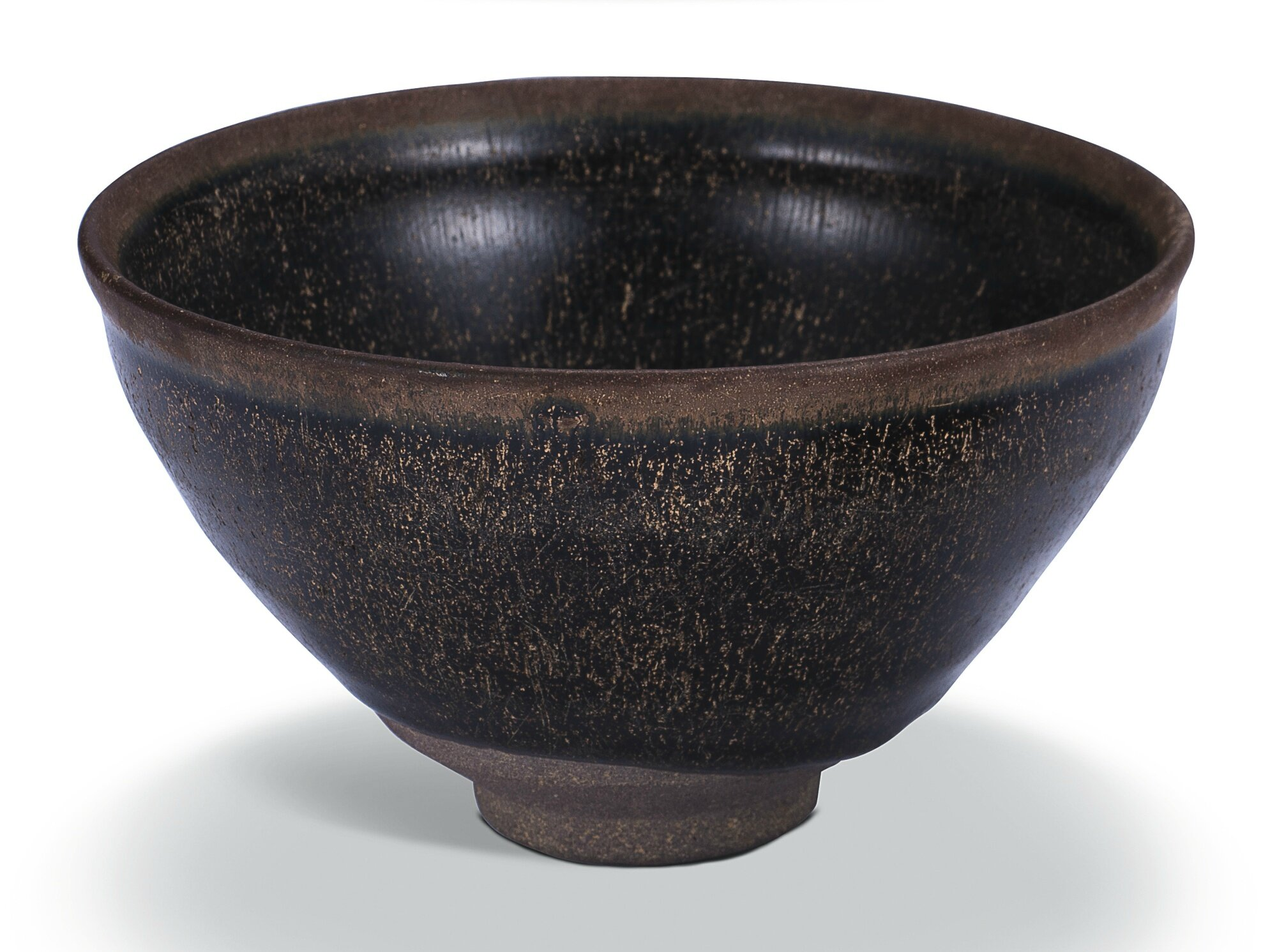 A 'Jian' 'Hare's Fur' bowl, Song dynasty (960–1279)