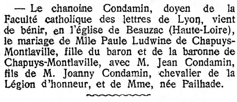 Le Gaulois 12 oct 1925 art