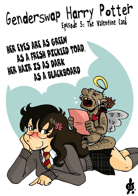 Genderswap Harry Potter n°5