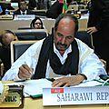 Le président sahraoui : les violations des droits de l'homme par le maroc n'ont pas épargné même les européens