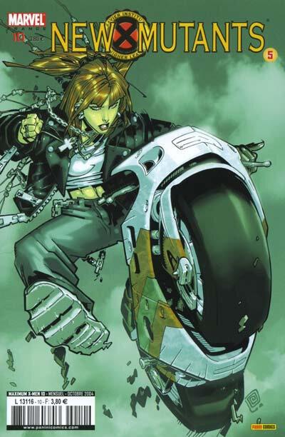 maximum x-men 10 new mutants 5