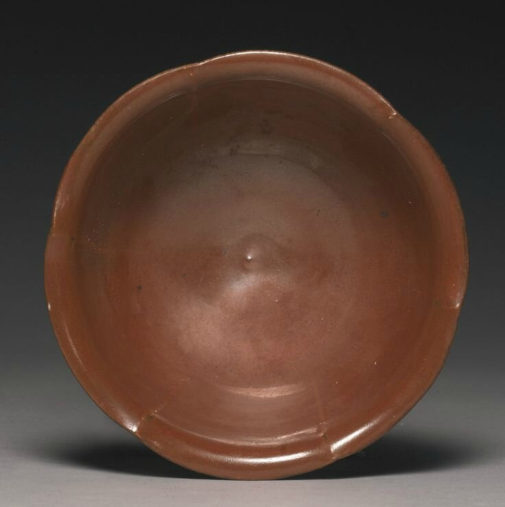 A 'Yaozhou' persimmon-glazed bowl, Northern Song dynasty2