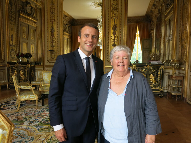 Macron Gourault