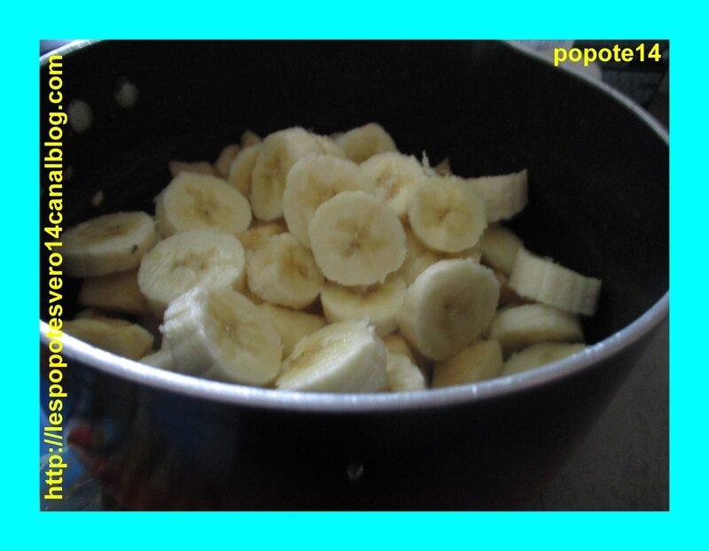 feuilletée pommes bananes caramel3