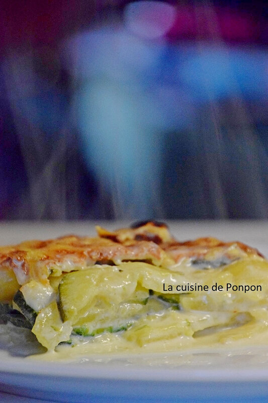gratin dauphinois et courgette (7)