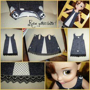 Robe gothic-lolita