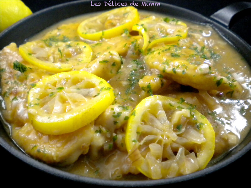 Aiguillettes de poulet au citron 4