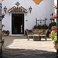 Patio - Hacienda El Santiscal