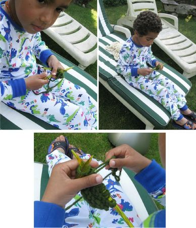 Orphée tricote