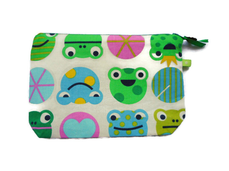 Trousse grenouilles nnuphar dos