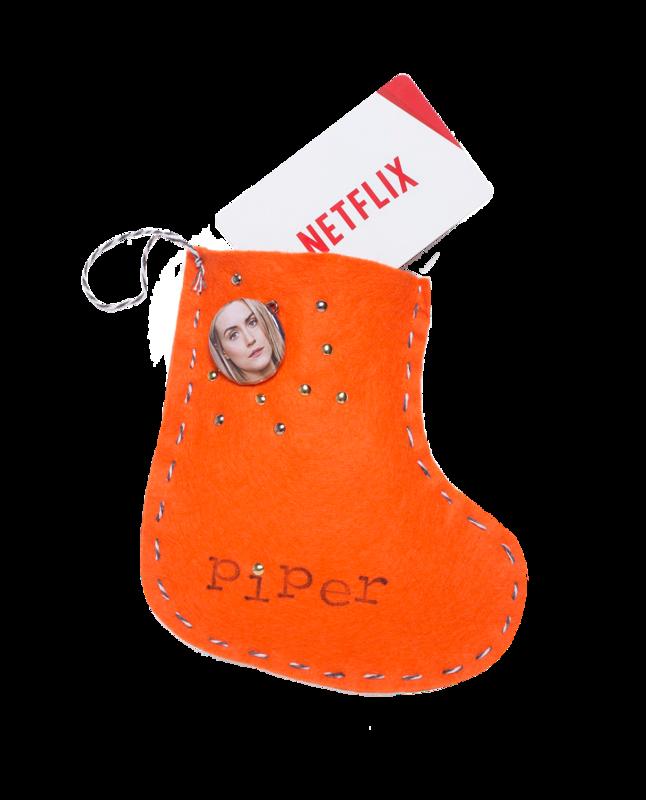Visuel chaussette Netflix - carte cadeau