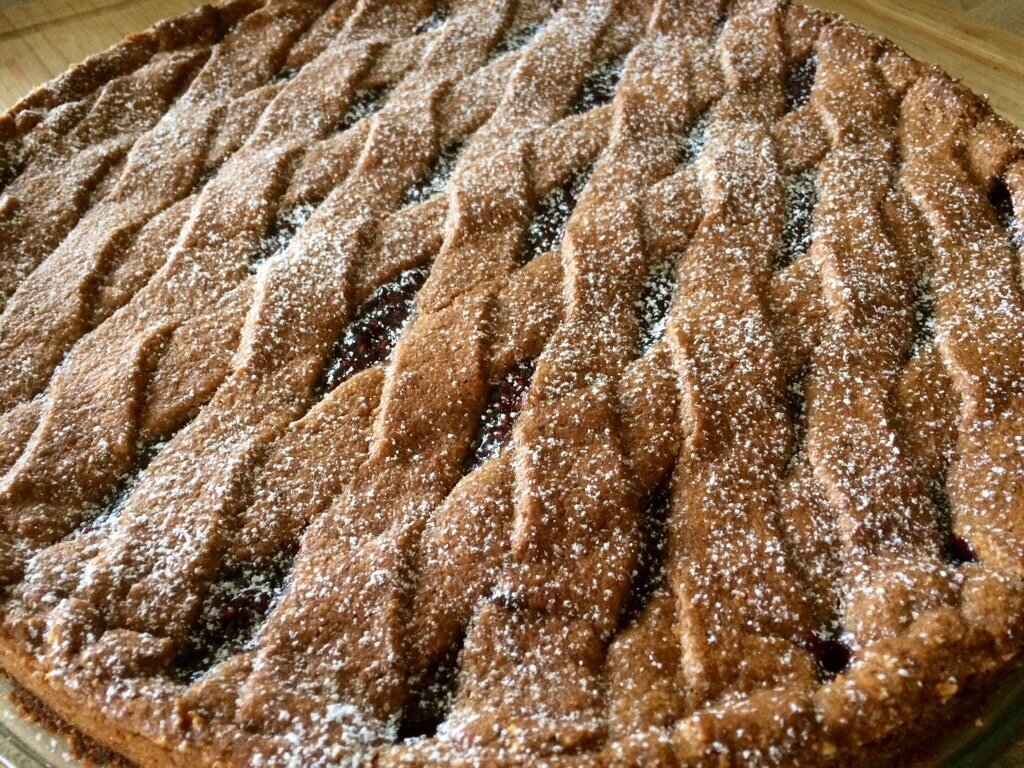 Linzer torte ( tarte Autrichienne )