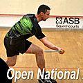Quelques snapshots de l'open de squash