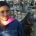 Camila con el Tapir