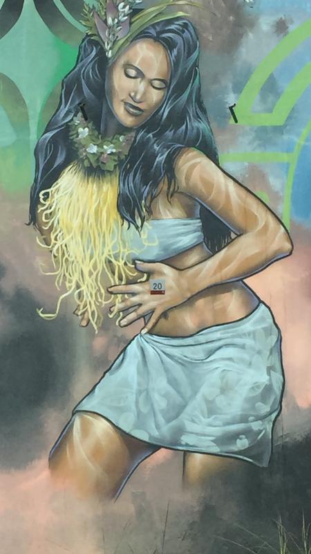 fresque danseuse