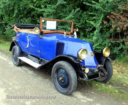 Renault type NN torpedo de 1924 (31ème Bourse d'échanges de Lipsheim) 01