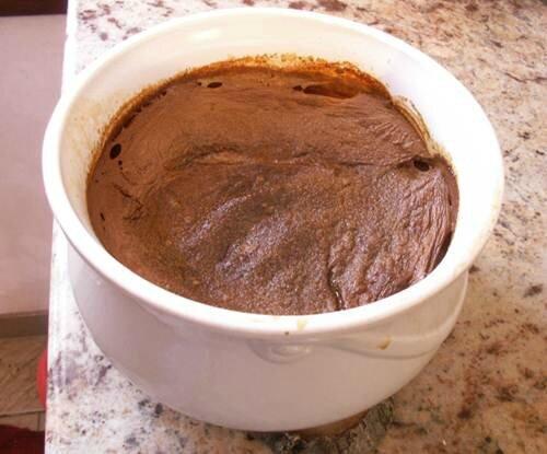 teurgoule 1 litre, cuite 4 heures
