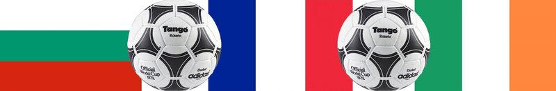 1975 Groupe 5 Bulgarie France Irlande