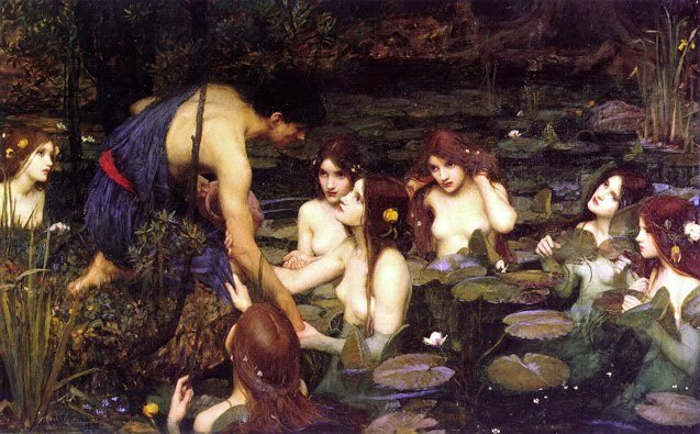 JohnWilliamWaterhouse_Hylas&TheNymphs