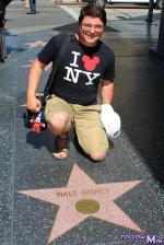Hollywood Bd - Walt Disney star