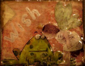 224 - Frog & fairy - Partie chez Anne (France)