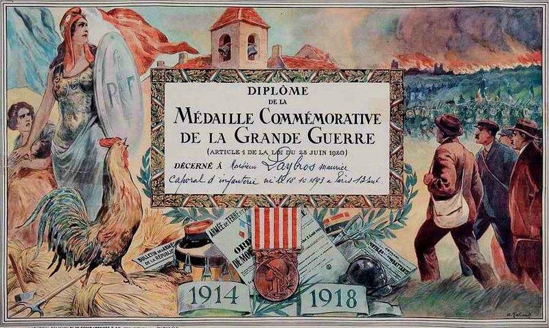 Médiaille commémorative GG