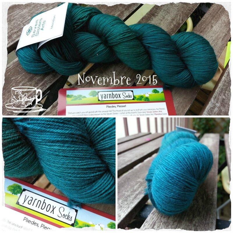 Yarnbox socks nov 2015