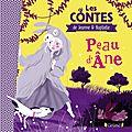 Pêle-mêle : peau d'ane - glouton croqueur de dinos - le livre de mes émotions - mes petits moments de méditation