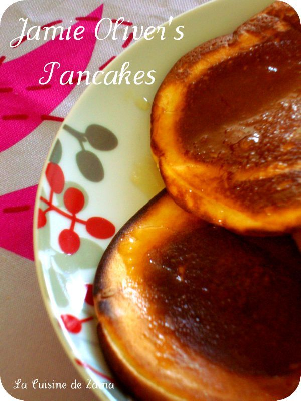 Jamie Oliver's pancakes