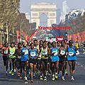 Marathon de paris j-4