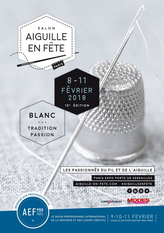 Affiche salon Aiguille en Fête 2018